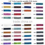 Hot Sale!! 5/8 '' solid FOE elastic 94colors in stock now