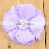 Wholesale European style hair clip, wedding decoration blue roses hairpin