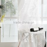 Hotsale French pleated kid's bedroom voile curtain drapes embroidered design sheer fabric