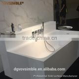 Eco-friendly portable acrylic freestanding bathtub,Solid surface bathtub,artificial marble stone bath tub