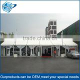 Big outdoor commercial pvc Exhibition car show tent, customized logo printing trade show tent