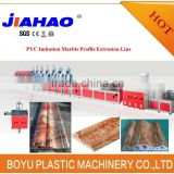 PVC Marble skirting production line,PVC Fuax marble profile making machine