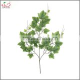 2016 Yiwu high quality factory decorative artificial grape branches and leaves