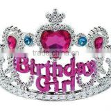 Wholesale Birthday Girl Jewel Tiara/Little Girls Princess Happy Birthday Party Crown Tiara