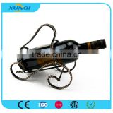 Modern Portable Wine Bottle Holder/Decorative Wrought Iron Wine Rack XQ1192