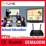 PTV6 XYUNS Mirroring wireless share for school education class demo presentation unit