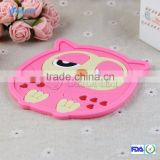 Animal shaped patterns silicone rubber cup coaster