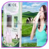 CE certified bill acceptor and card supportable automatic fresh milk vending machine milk atm machine