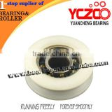 Chinese nylon roller,sliding door track pulley wheels