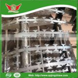 secure fence razor barbed wire, razor barbed wire fence exported to Turkey and Kenya