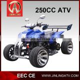 250cc kawasaki sports quad atv ECE APPROVAL