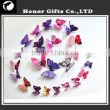 Promotional 3D Butterfly Home Decorative Mirror Sticker