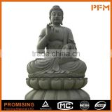 Available on sale cheap price granite made hand carved Chinese natural stone made Buddhism gautam buddha statue