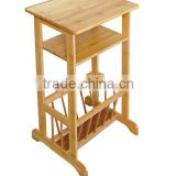 3-Tier Cheap Bamboo Storage Shelf from Factory