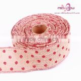 Christmas Decorative Burlap Ribbon Roll