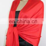 red wedding shawl fashion scarf high quality bamboo scarf (JDC-253_01# )