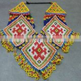 (KOH-001) Afghan Tribal Kuchi Beaded Necklace
