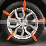 Wholesale best selling Winter Tyre Chains Car Accessories Car Snow Tyre Anti-skid Chains White Chains For Family Car