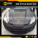 Facelift parts for cars Hm Style Body Kit Conversion Kit Position panemera 970 Kit Frp Material modified