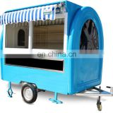 Stainless Steel Mobile Catering Trailer/Food Van