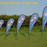 High quality custom logo printed teardrop banner/teardrop flags/ flying banner /beachflag