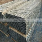 conduit pipe galvanized square cft stub columns pre zinc coated structural steel tube with low price