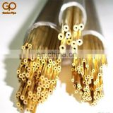 China manufacture good quality C21000 C22000 C22600 C23000 brass tube pipe