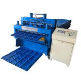 Steel Glazed Tile Double Layer Cold Roll Forming Making Machine