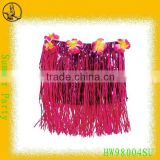 60cm Rose Raffia Hula Long Skirt for Hawaii Party                                                                         Quality Choice