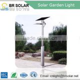 automatic light and time control solar led bollard light