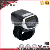RD-F002 Wireless mini qr code barcode reader, Wearable Ring bluetooth 2d Barcode Scanner                                                                         Quality Choice
