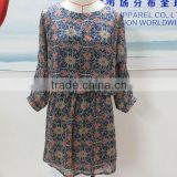 baroque style chiffon half sleeve latest dress designs photos