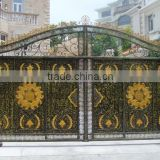 steel fence gate,metal fence gate for yard, steel security doors residential