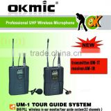 wireless tour guide system/wireless monitor/wireless camera system
