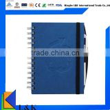 wholesale new design pen custom school notebook