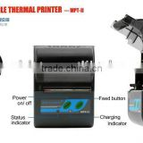 2 inch mini bluetooth printer for developer/bank receipt printer