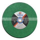 Best price 405mm cast iron cutting discs/wheels from China