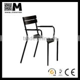 Aluminum Cafe Arm Chair Replica Fermob Luxembourg Chair