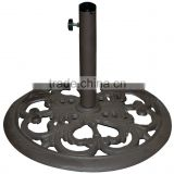 elegant garden outdoor market parasol umbrella base stand                                                                         Quality Choice
