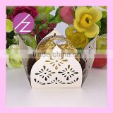 Chocolate Packing Box Laser Cut Pearl Paper Chocolate Box CB-3