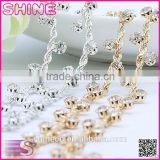Middle east quality rhinestone cup chain YIWU Wholesale hair ornament Flower stone shining loose rhinestone chain trim