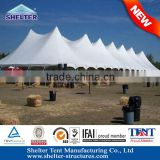 Side poles and walls are interchangeable PVC aluminum pole marquee for Events for Sale in GZ, Manufactured in Guangzhou