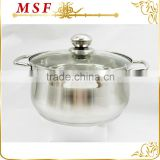 induction cooking pots belly shape