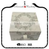 Low Price Luxury Art Paper Handkerchief Gift Box With Logo Print