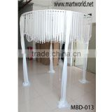 Latest decorating white fabric wedding tent for wedding events&party wedding decorations wedding mandap(MBD-013)