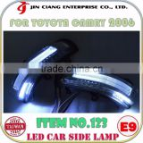 Body kit FOR TOYOTA COROLLA ALTIS LED CAR SIDE LAMP LIGHT Guide Lamp