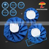 sky blue color India market hot sale custom cloth ice pack