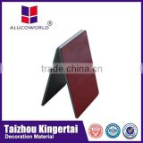 Alucoworld aluminum copper clad laminate light weight concret gypsum ceiling tile aluminium composite