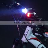 rechargeable 8800mah 18650 xml t6 led remote switch blue red bicycle light