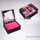 Book shaped paper box cardboard box for cosmetic packaging